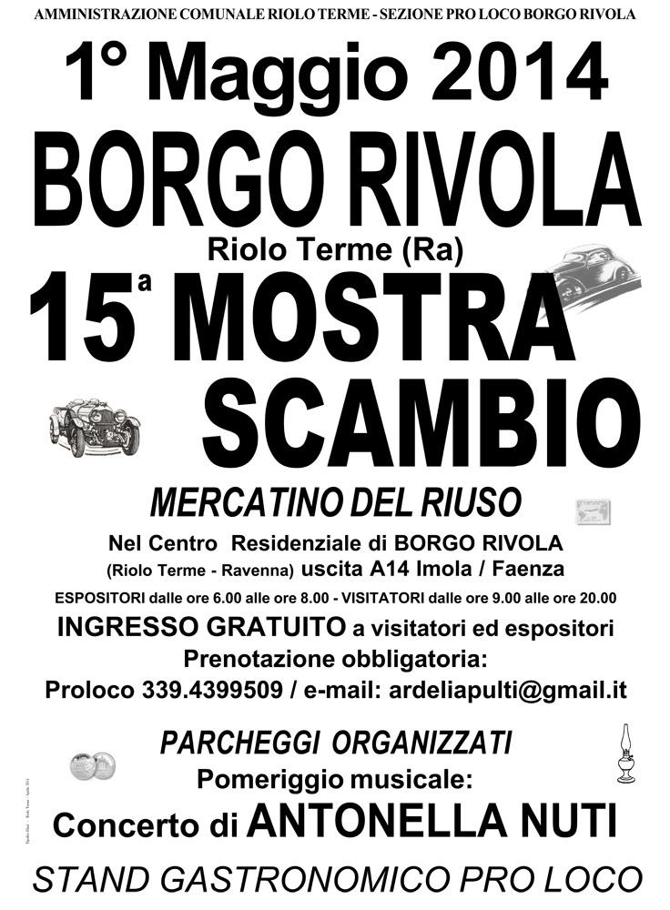 Borgo Rivola Mostra Scambio 1° Maggio 2014